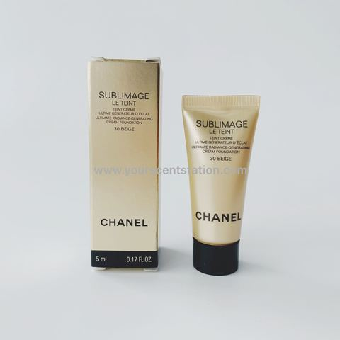 Chanel Sublimage Le Teint Ultimate Radiance Generating Cream Foundation 5ml (30 Beige).jpg
