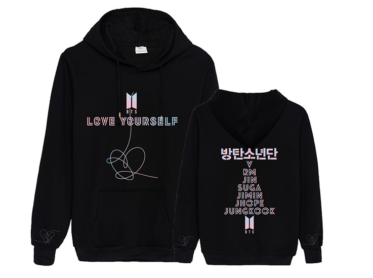 BTS Love Yourself Answer Hoodie (Special Edition)