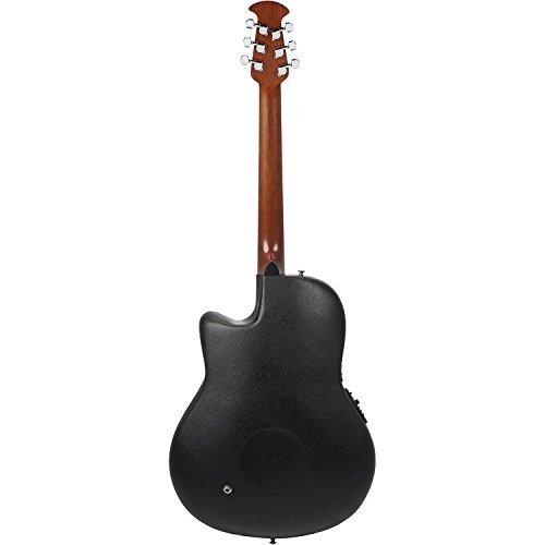 ovation ce44 5kc kevin cronin signature celebrity elite mid depth black acoustic guitar with. Black Bedroom Furniture Sets. Home Design Ideas