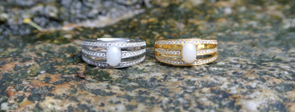 Trinity Breastmilk Ring for Mother, Baby and Love