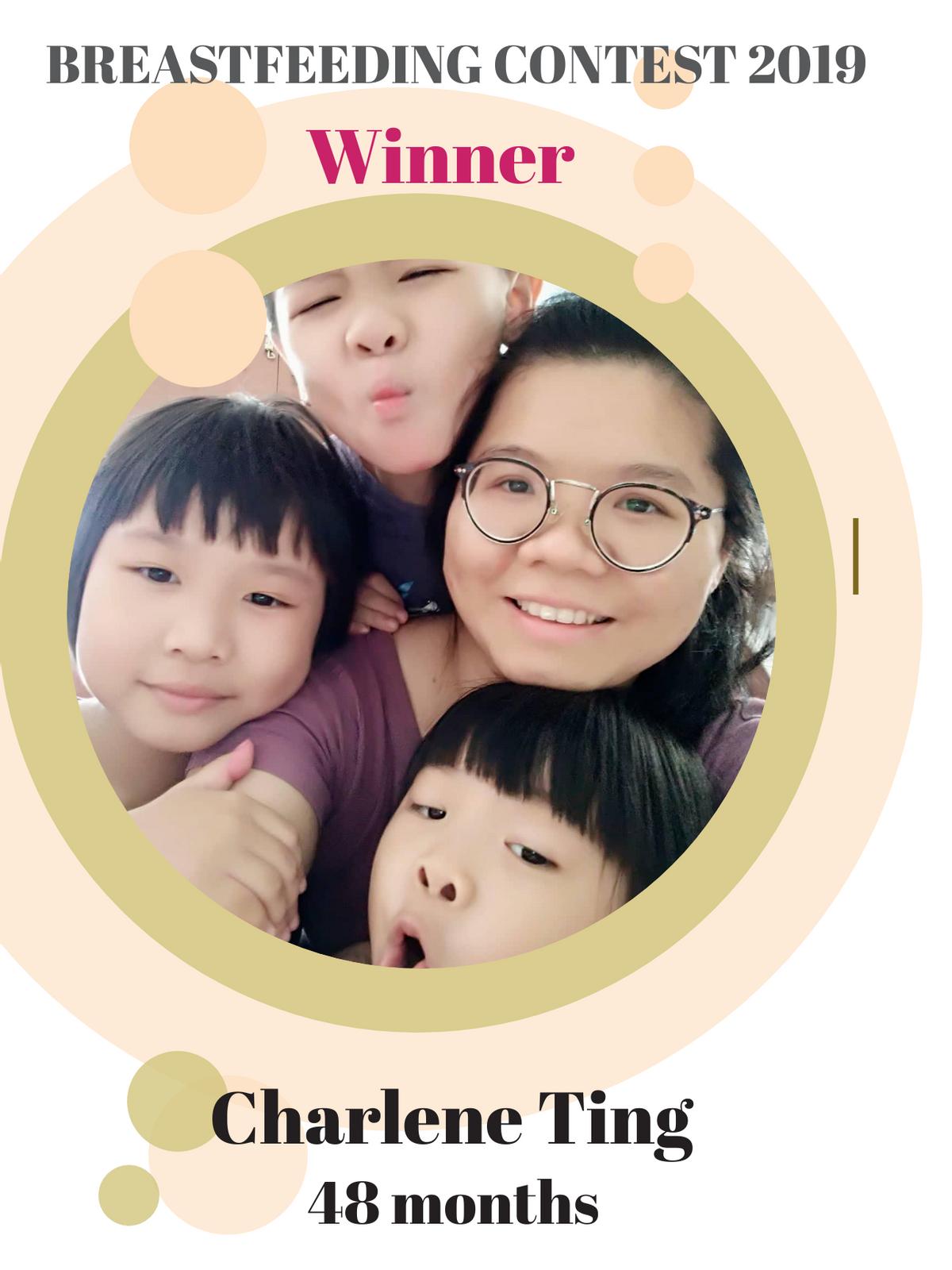 Breastfeeding Contest 2019 - Winner (Charlene Ting)