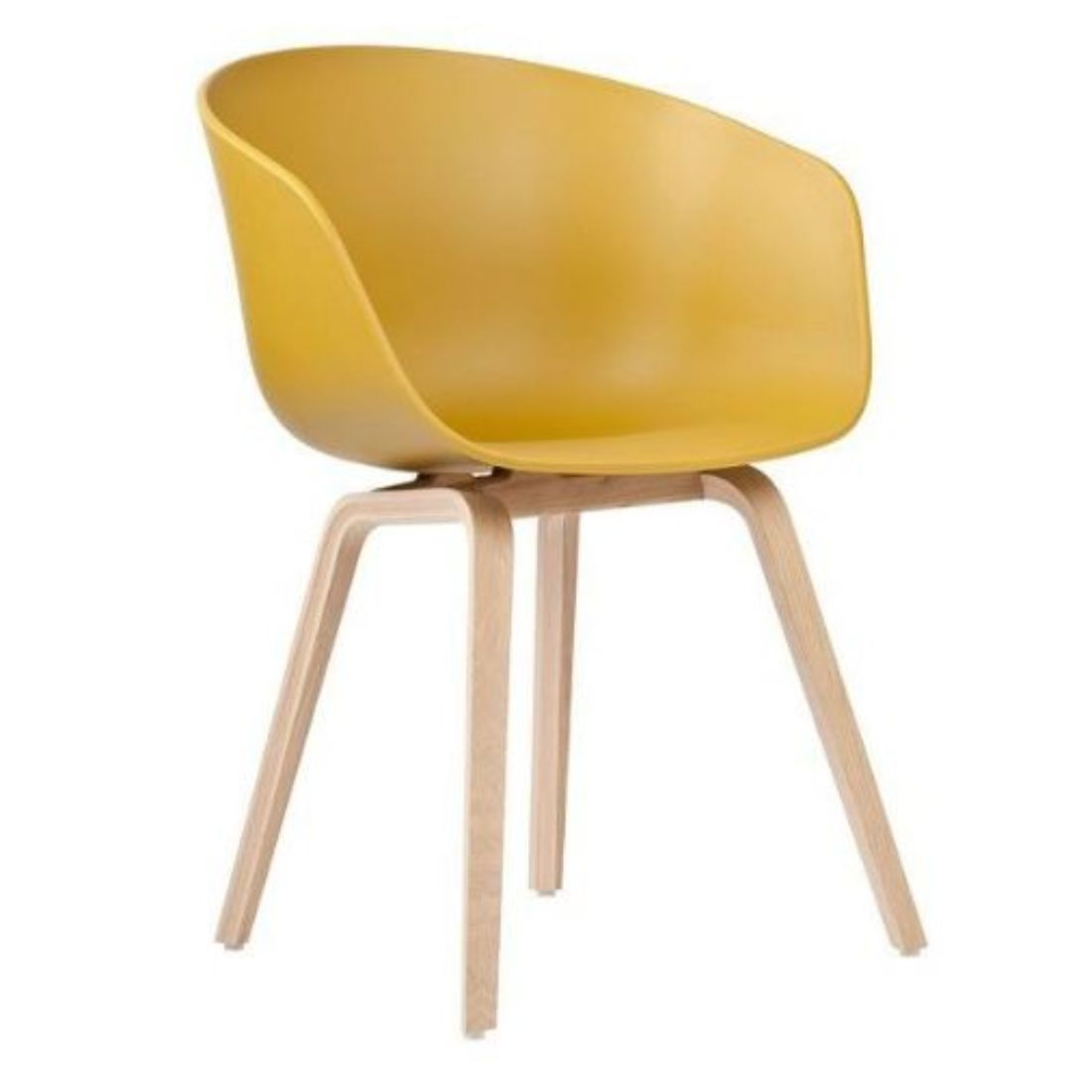 Hay Chair Yellow Imhomestylist