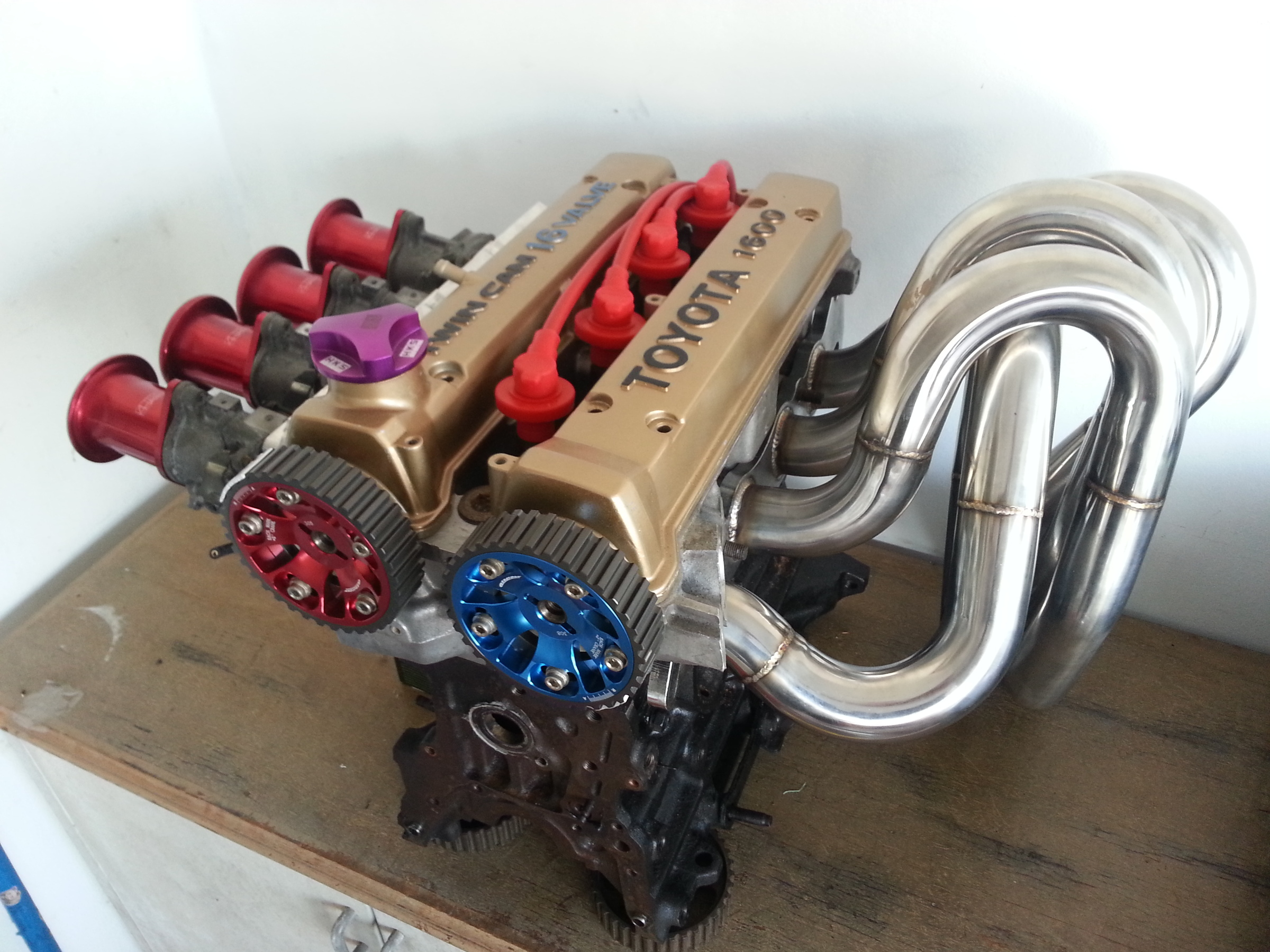 4AGE Custom Exhaust Manifold – Speed Master Racing