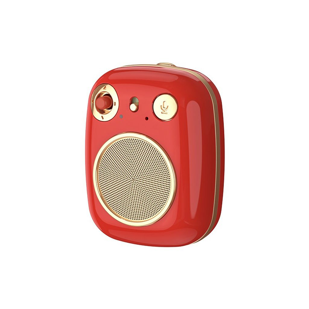 RB-M58 Haley Series Portable Wireless Speaker Red