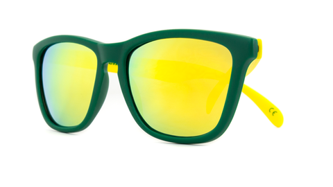 affordable-sunglasses-green-yellow-collegiate-classics-front