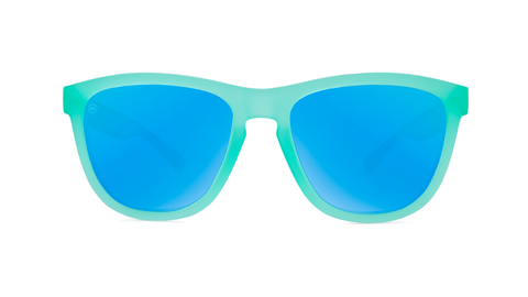 affordable-sunglasses-frosted-mint-aqua-front