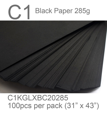 black paper c1 285g black card 2 side thefancypaper.jpg