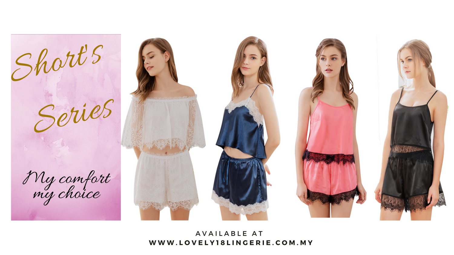Lovely 18 Lingerie Collection |