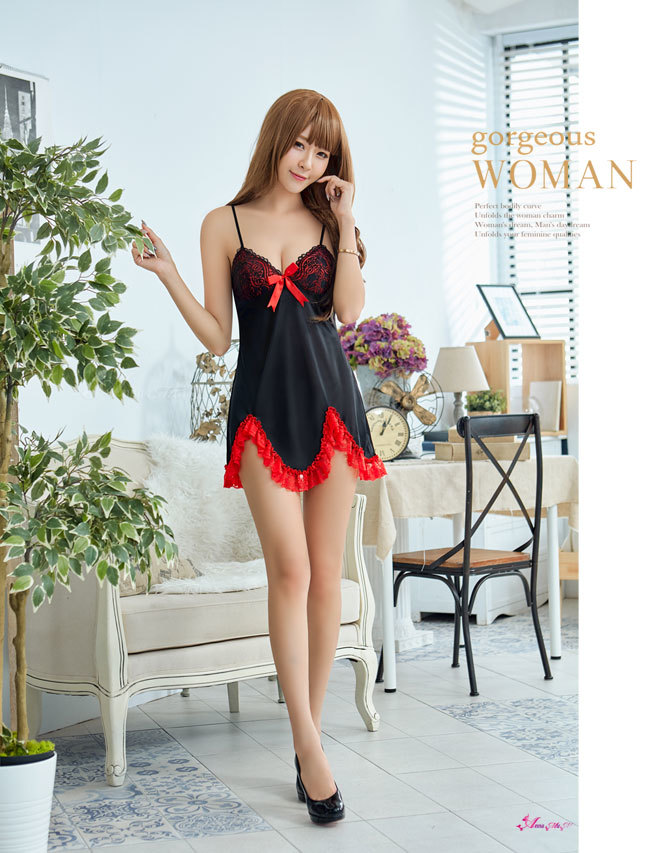 T263 - Elegant romantic beauty lace Sleepwear & Slip Babydoll
