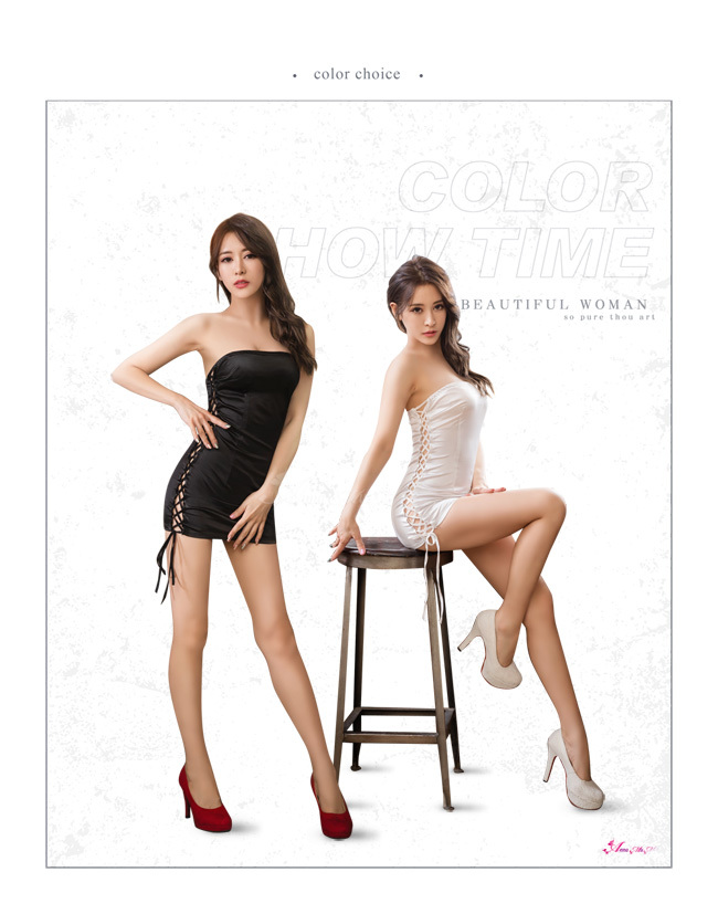 T577 - Charming queen!Simple elegant sexy Racing girl Cosplay Costume Set