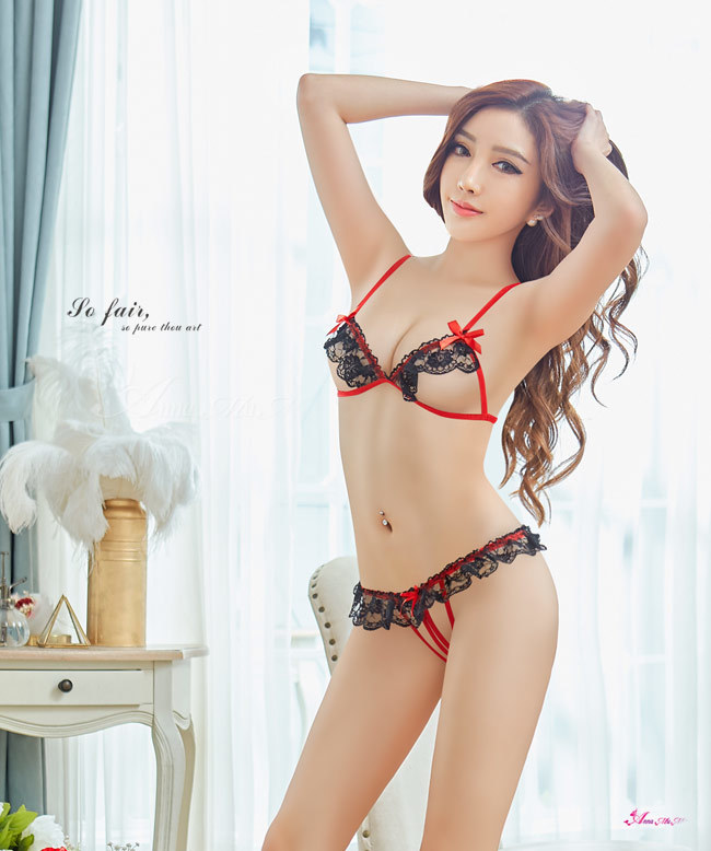 T701 - Sweetheart girl!Sexy romantic charming two-piece Sexy Lingerie Bra set
