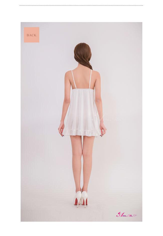 T744 - Sweet pretty lace satin Sleepwear & Slip Babydoll