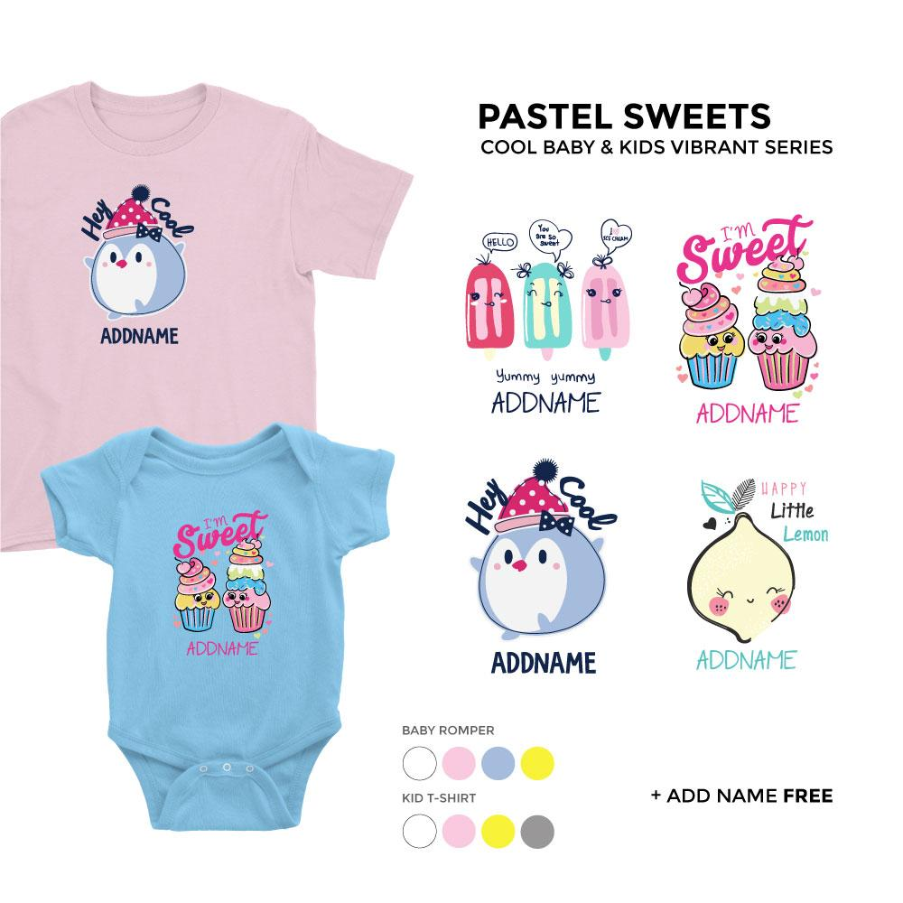 Pastel Sweets Cool Baby and Kids Vibrant Series