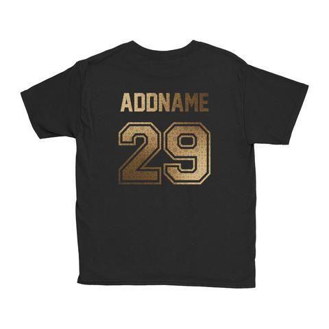 Gold (Islamic) Series - Kid's T-Shirt (Black).jpg