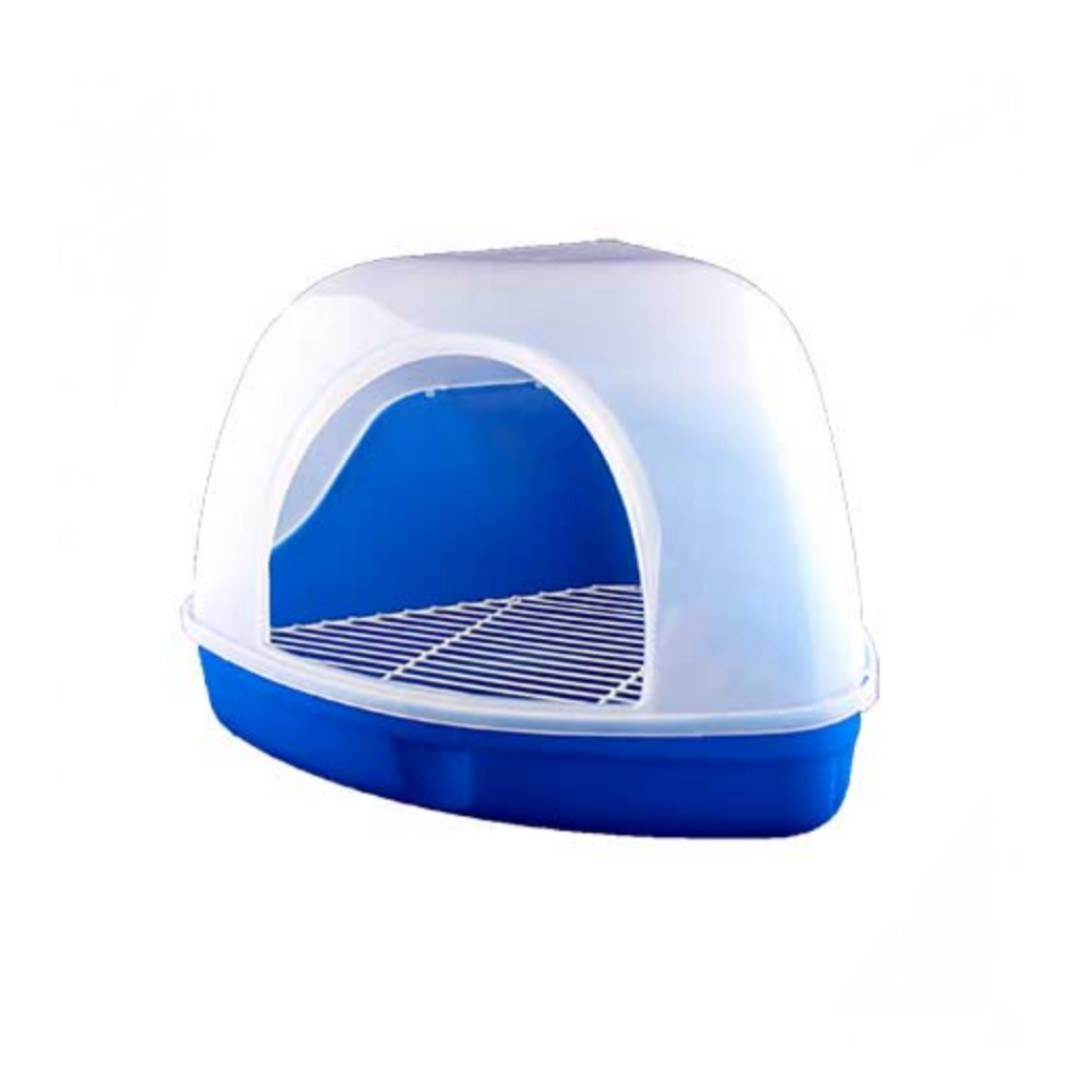 Rabbit Litter Box with Transparent Dome