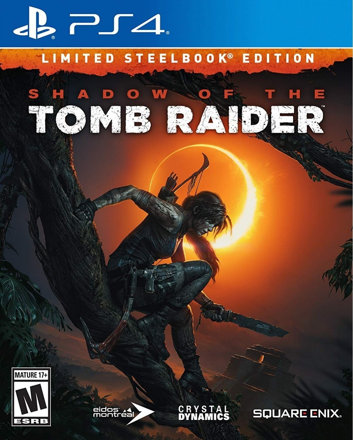PS4: Shadow Of The Tomb Raider Limited Steelbook Edition  [R3/ENG]