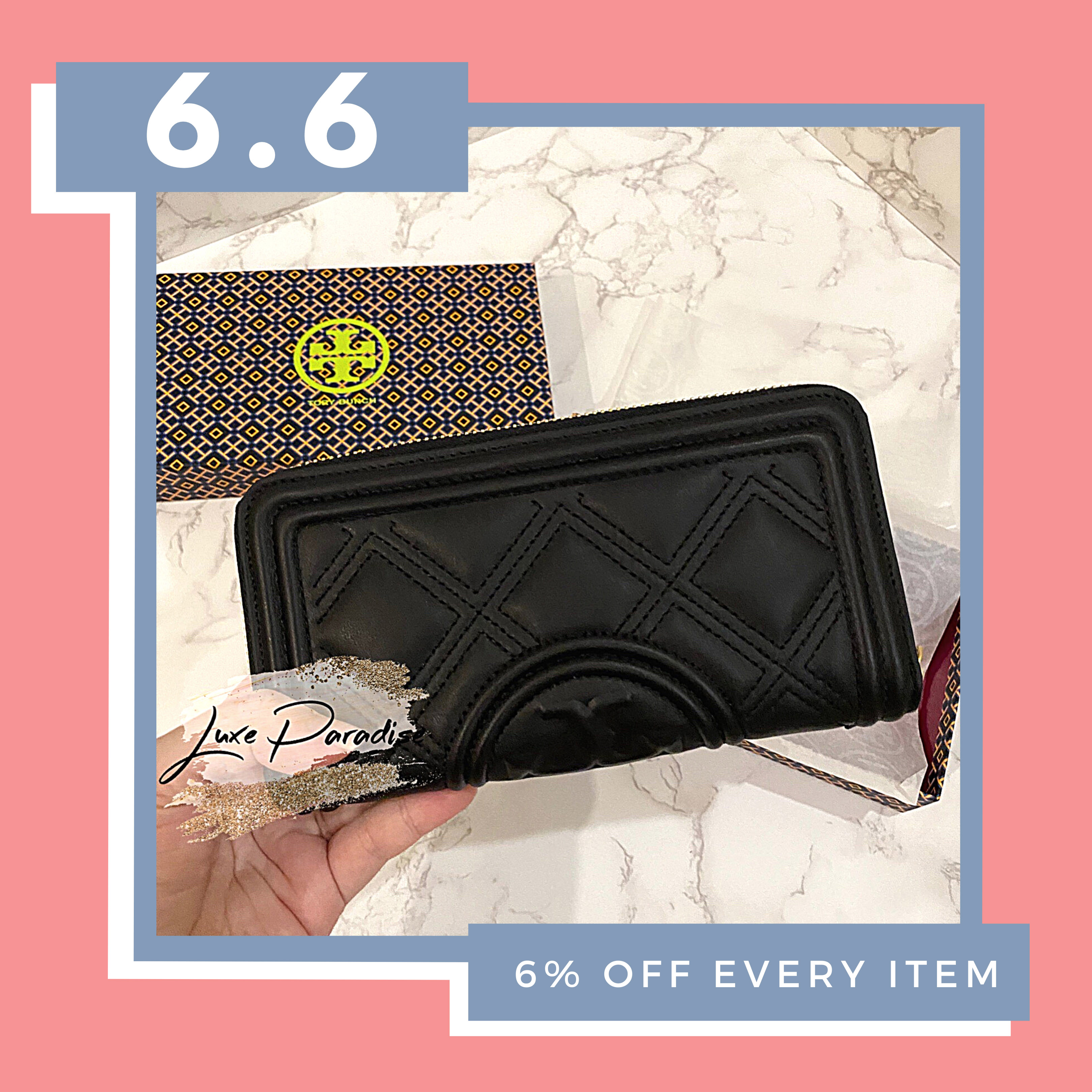 Tory Burch Fleming Soft Continental Wallet
