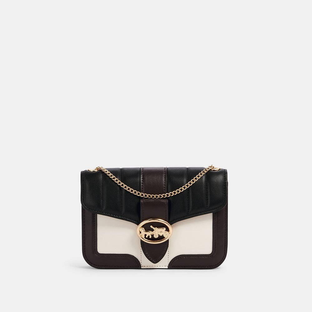 Coach Georgie Crossbody With Linear Quilting C0029