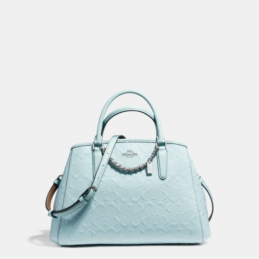 Coach Small Margot Carryall In Signature Debossed Patent Leather F55451 Svaq A0jpeg