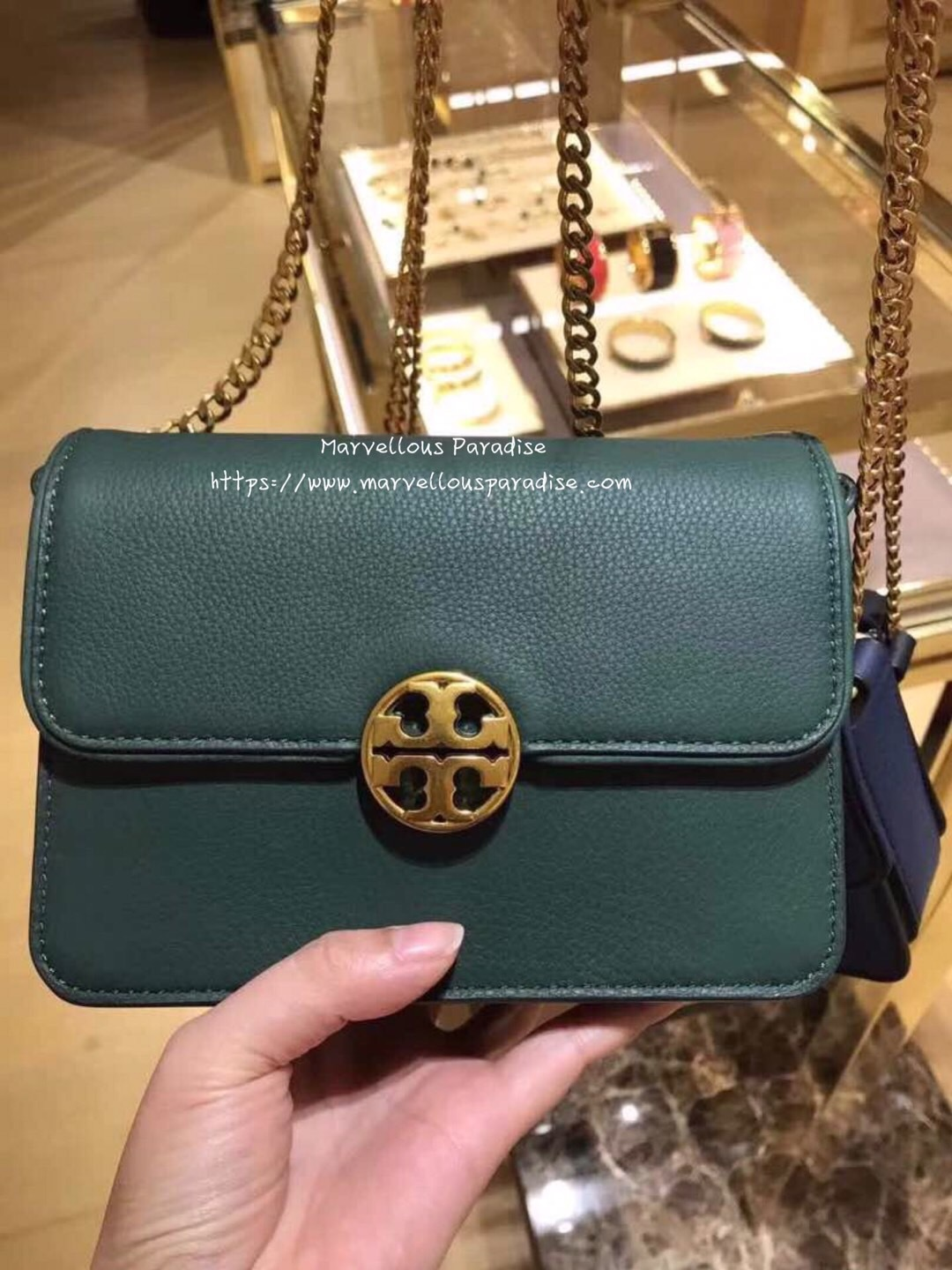 951dcebfc8e8 Tory Burch Chelsea Mini Crossbody – Luxe Paradise