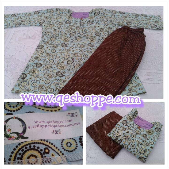 baju-kurung-riau-kanak-kanak-english-cotton-yellow-paisley-light-turquoise-with-pin-polkadot-dark-brown-skirt.jpg
