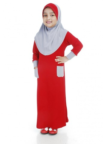 Jubah Moss Crepe Blood Red.jpg