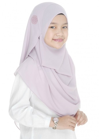 Double Loop Instant Shawl Chiffon Light Purple.jpg