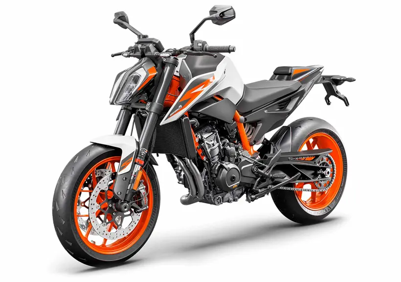 KTM 890 Duke R side view