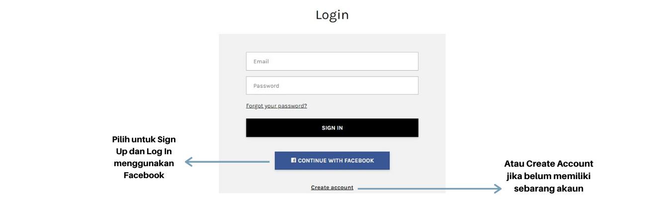 Pilih untuk Sign Up dan Log In menggunakan Facebook.png