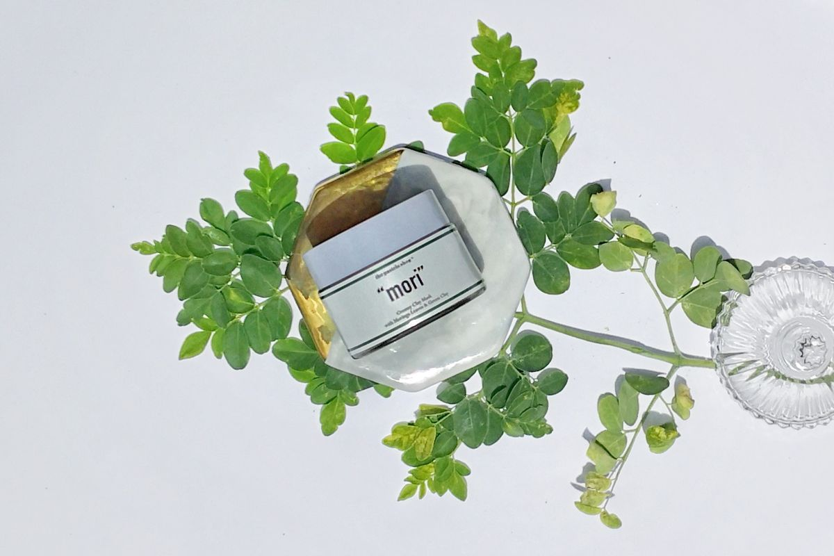 """THE PASTELS SHOP """"Mori"""" Creamy Clay Mask with Moringa Leaves & Green Clay by Myyskincare"""