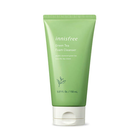 INNISFREE Green Tea Cleansing Foam 150ml.jpg