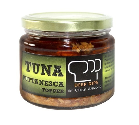 deep dips tuna puttanesca topper.jpg