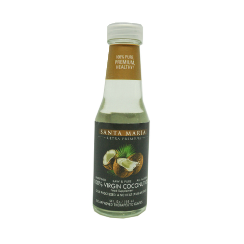 Santa Maria-100% Organic Virgin Coconut Oil-150mL-01.jpg