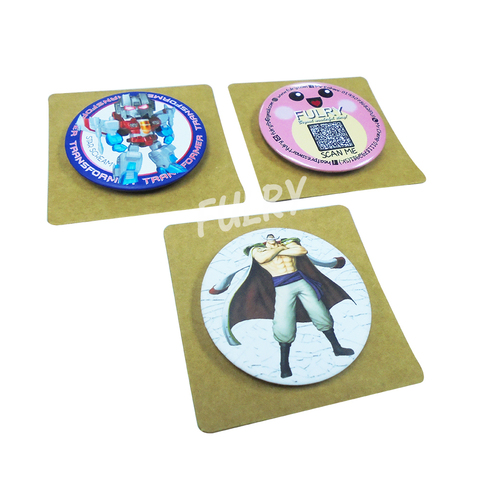 Craft Card Packaging For Button Badge  1.jpg