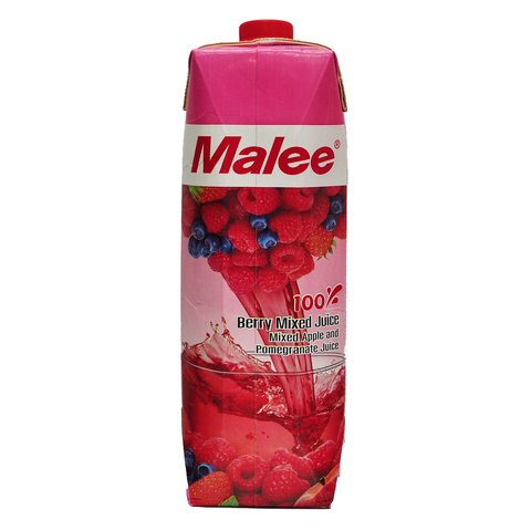 Malee 100percent Blueberry,rasberry,strawberry Juice English Front.jpg