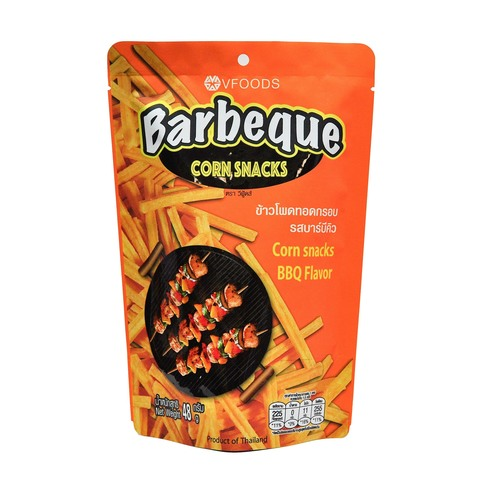 Barbeque BBQ Corn Snacks VFoods Front.jpg