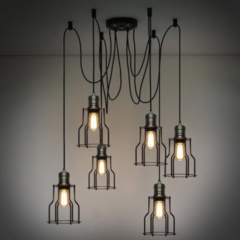 Industrial wire cage pendant light-1.jpg