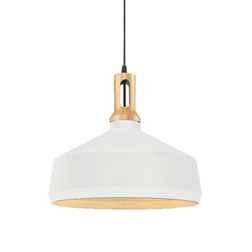 Matt Cone Scandinavian design pendant light, B white.jpg