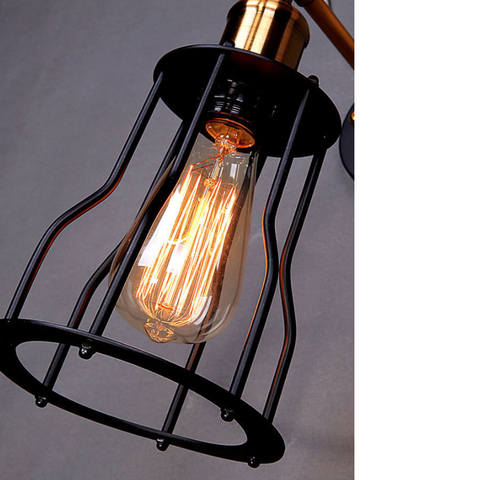 LW004 Industrial wire cage wall light-5.jpg