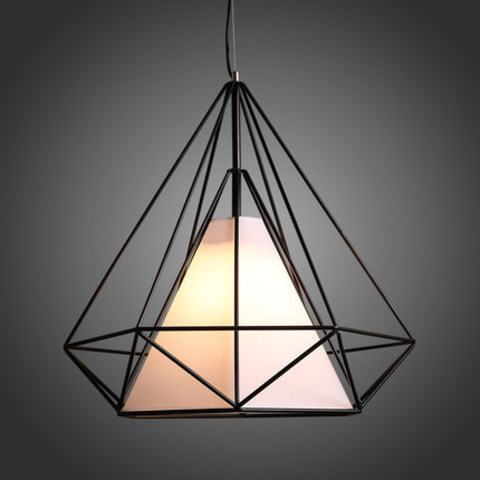 Diamond shape loft design pendant light.jpg