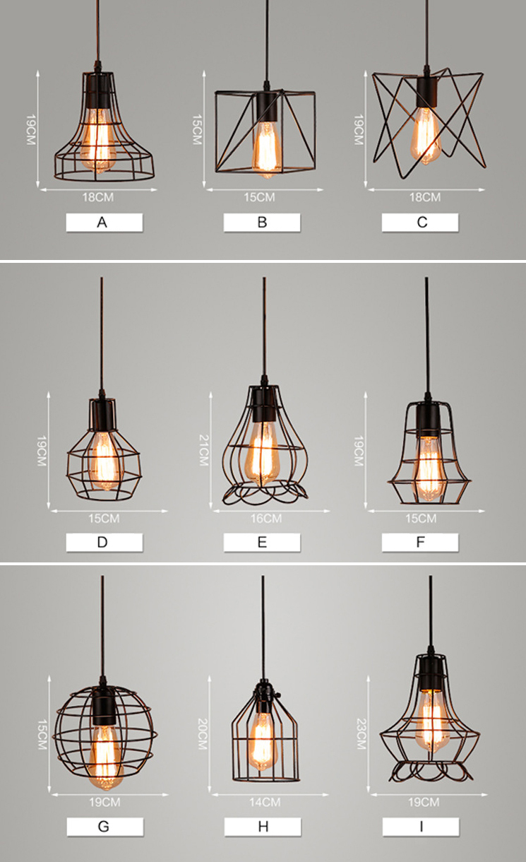 Diagonal shape loft design pendant light-5.jpg