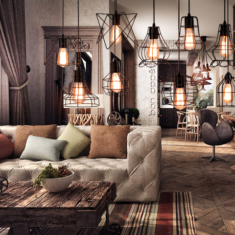 Diagonal shape loft design pendant light-9.jpg