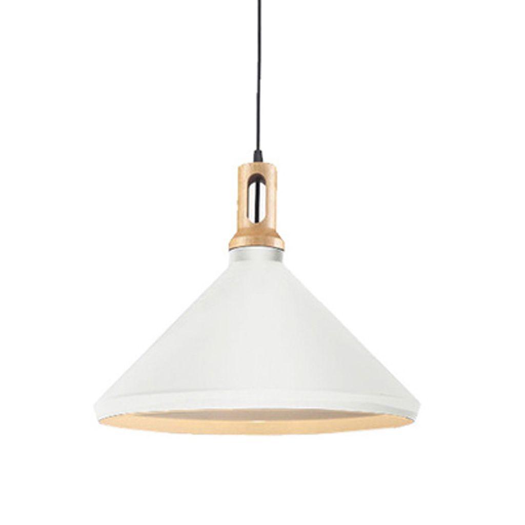 Matt Cone Scandinavian design pendant light-small white.jpg