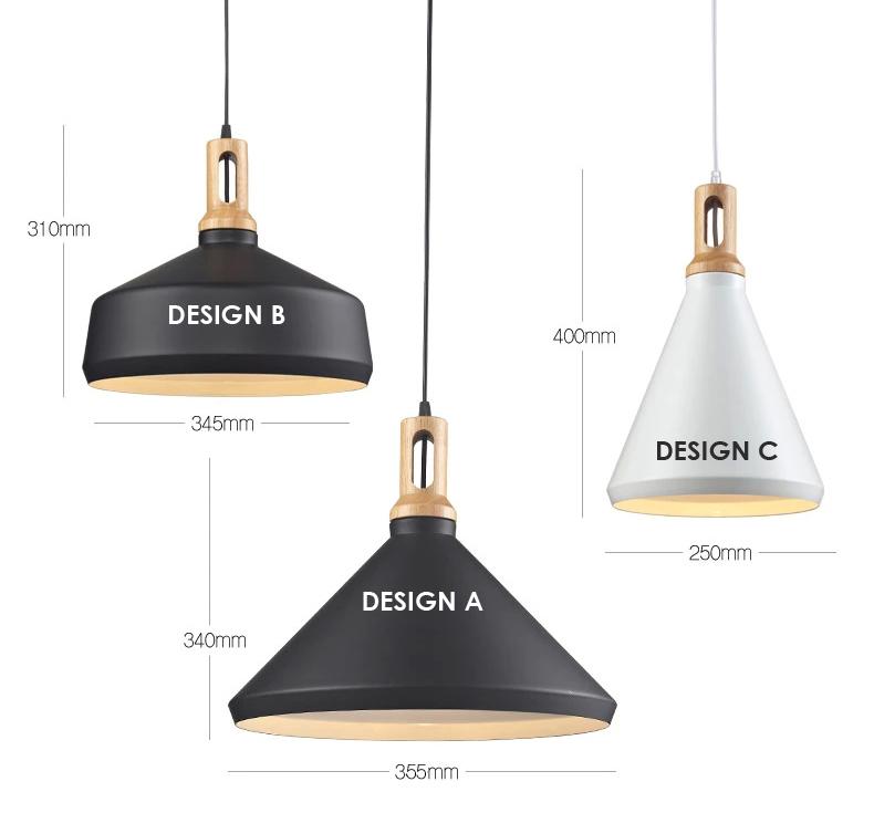 scandinavian lighting. Matt Cone Scandinavian Design Pendant Light-4.jpg Lighting D