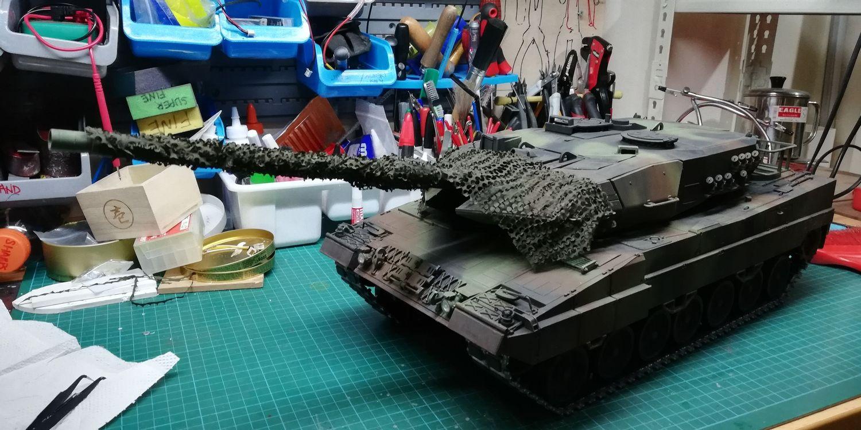 RC Tank Legion Shop - All metal Leopard 2A6