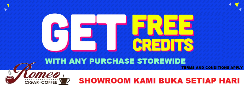 GET FREE Credits with any purhcase storewide