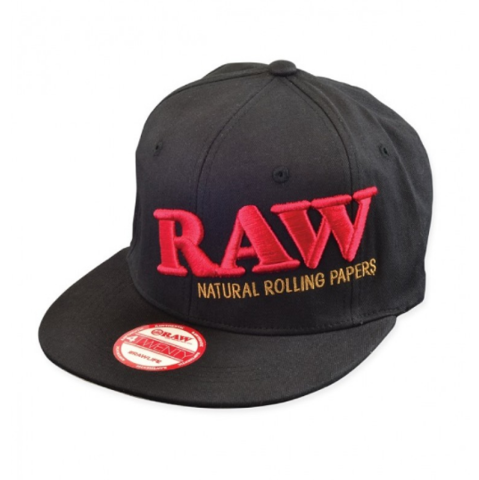 raw fitted all black hat.PNG