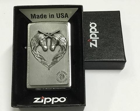 Zippo Pocket Lighter 2001986 Unicorn Heart.JPG