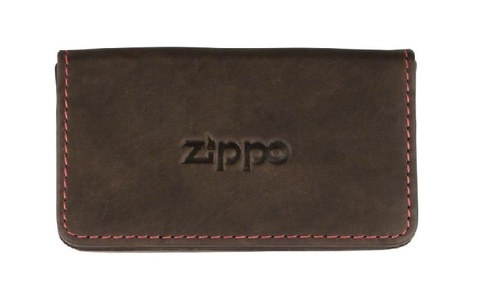 ZIPPO business card holder leather mocca 10 x 6cm (755351).jpg