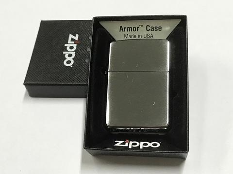 ZIPPO Pocket Lighter 0002 BR CHR Armor Heavy WA (250790).JPG